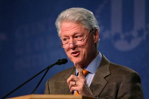 Former U.S. President Bill Clinton