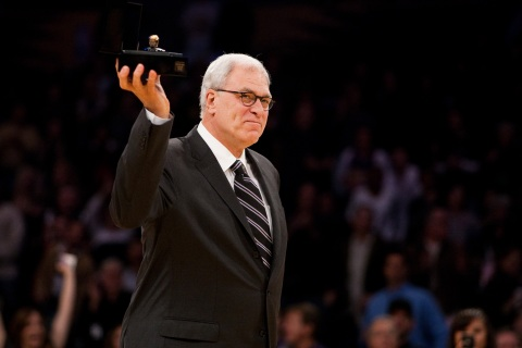 Los Angeles Lakers Head Coach Phil Jackson