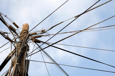 Modern-day telephone cables