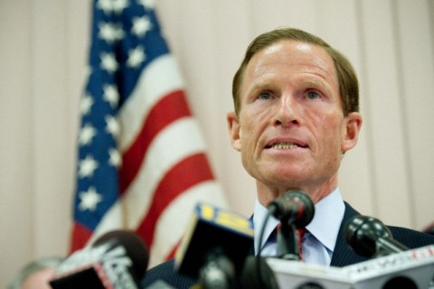 Connecticut Attorney General and U.S. Senate candidate Richard Blumenthal