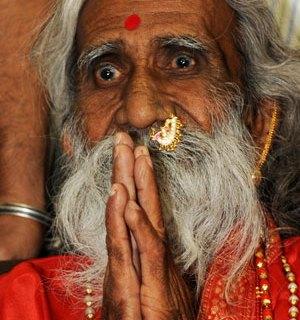 Hindu holy man Prahlad Jani