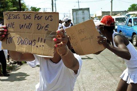 Jamaica Slum Standoff