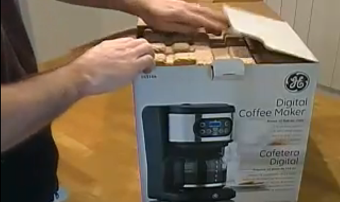 GE 12-cup Digital Coffee Machine