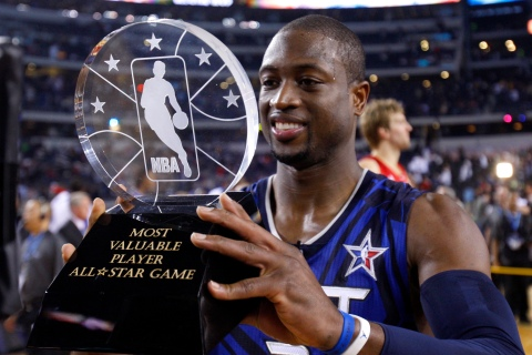 2010 All-Star Game MVP Dwyane Wade