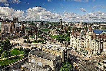 Downtown Ottawa © Copyright 2010 CorbisCorporation