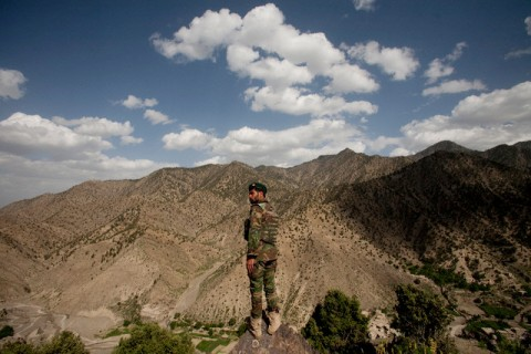 Afghanistan - Taliban - Afghan and American Forces on Mission