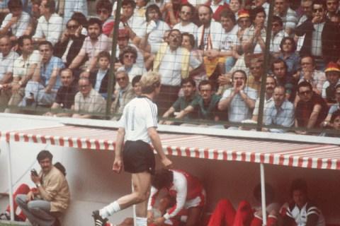 Soccer World Cup 1982: Germany vs. Austria 1-0