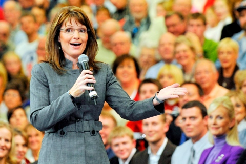Sarah Palin's autobiography 'Going Rogue: An American Life' Released on 17 November