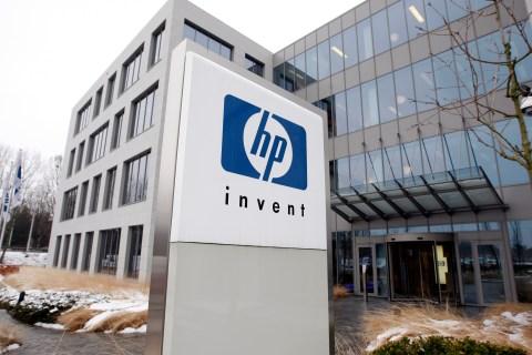Hewlett-Packard's Belgian headquarters in Diegem