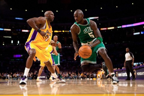 NBA: FEB 18 Celtics at Lakers