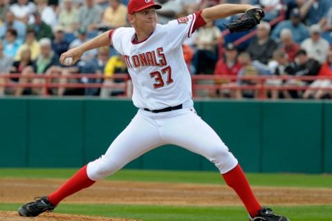 Washington Nationals pitcher Stephen Strasburg
