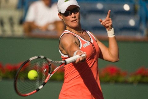 Tennis: BNP Paribas Open  2010 Women's Singles - Quarterfinals Samantha Stosur vs. Maria Jose Martinez Sanchez