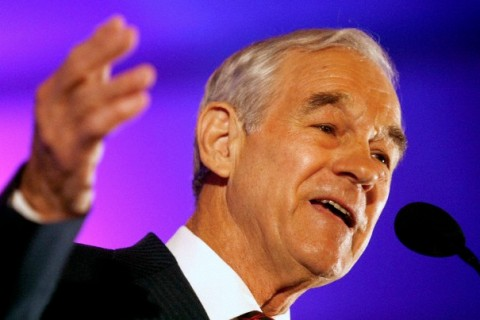 Texas Congressman Ron Paul speaks at the 2010 Southern Republican Leadership Conference in New Orleans