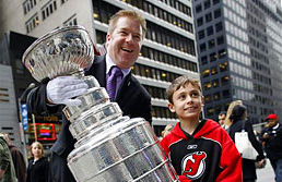 Mike Bolt, guarder of the Stanley Cup