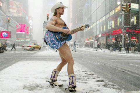 USA - New York - The Naked Cowboy
