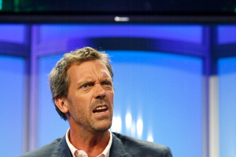 "5. ""Dr. House"" (Hugh Laurie)"