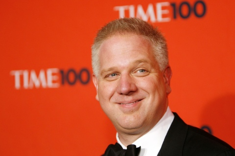 Media Personality Glenn Beck arrives for the Time 100 Gala in New York