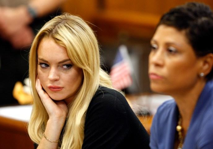1. Lindsay Lohan