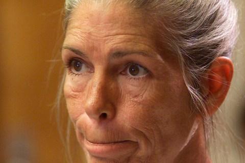 CONVICTED MURDERER LESLIE VAN HOUTEN REACTS AFTER BEING DENIED PAROLE IN CORONA
