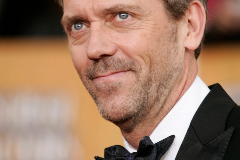 Actor Hugh Laurie arrives at the 15th annual Screen Actors Guild Awards in Los Angeles