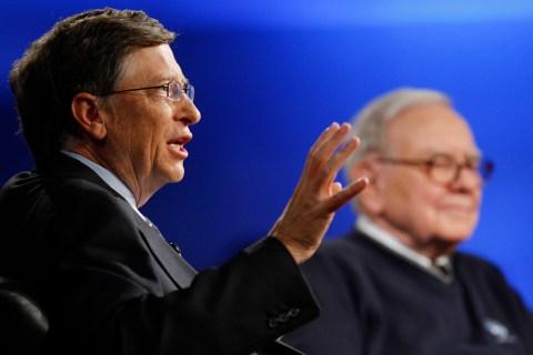 USA - Business - Bill Gates and Warren Buffett