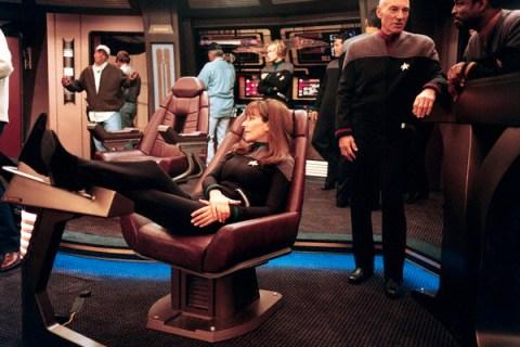 "On the Set of TV's ""Star Trek: The Next Generation"""
