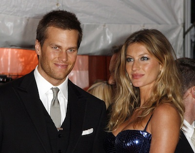 Tom Brady and his wife model Gisele Bundchen