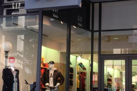 Gap Clothing Store