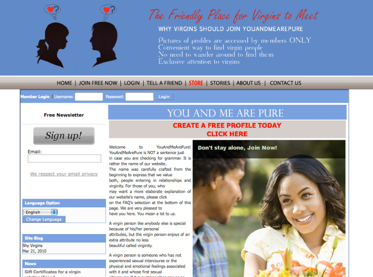 PHP Dating Site.