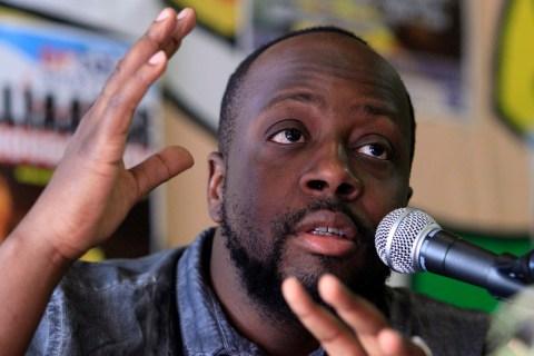 Haitian singer Wyclef Jean