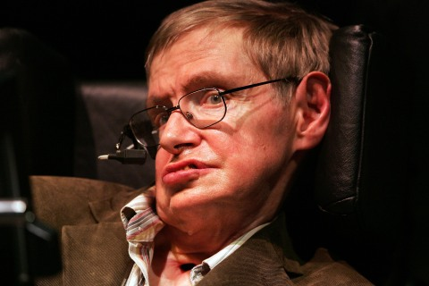 Physicist Stephen Hawking Lectures At UC Berkeley
