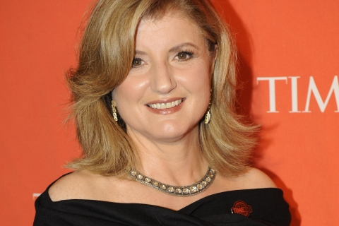 Arianna Huffington attends Time Magazine