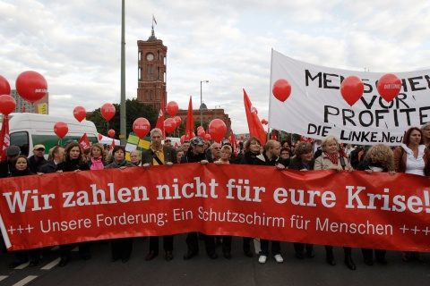Austerity Protests in Berlin
