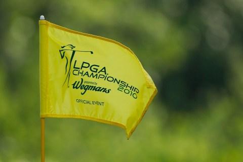 LPGA Championships Flag