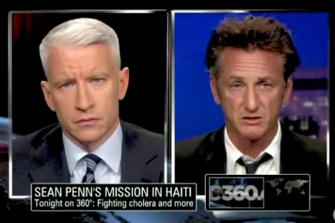 Sean Penn on AC360°