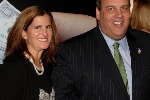 Chris Christie and Mary Pat Christie