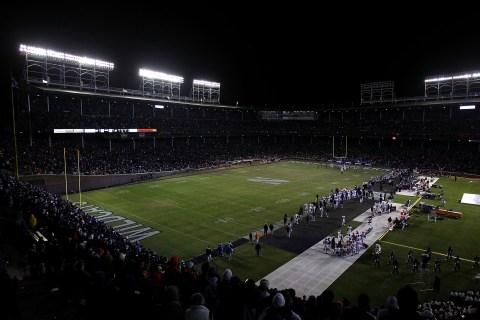 Illinois vs. Northwestern at Wrigley Field