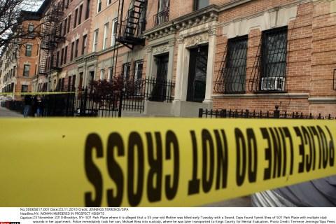 Murder in Prospect Heights, Brooklyn