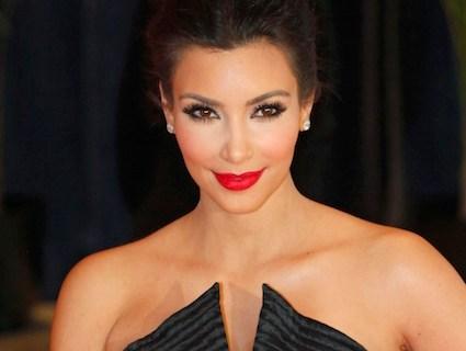 Reality show star Kim Kardashian arrives at the White House Correspondents' Association dinner in Washington