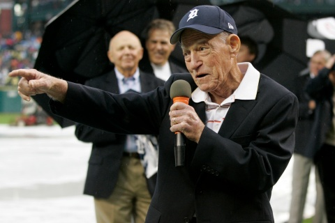 Former Detroit Tigers manager Sparky Anderson