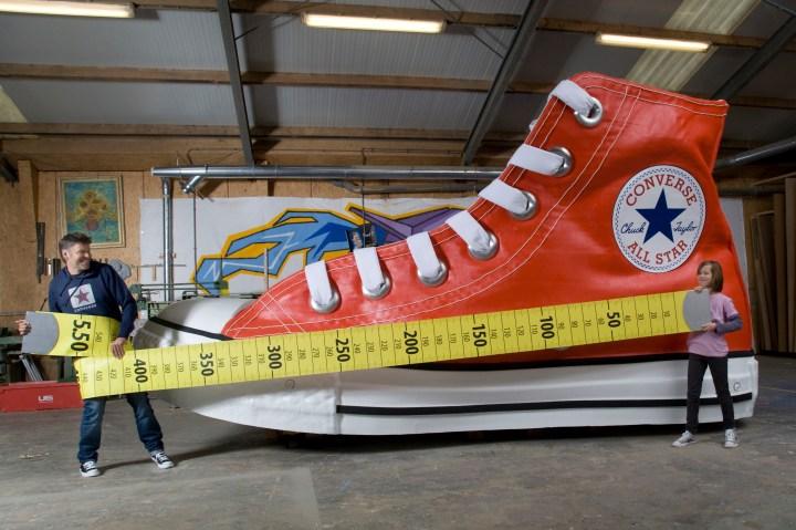 Largest Shoe