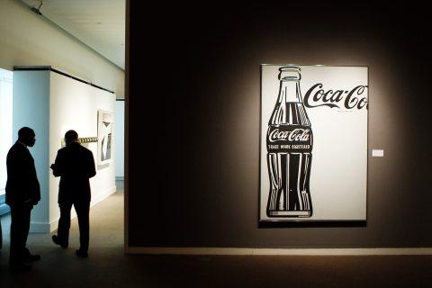 """""""Coca-Cola [4] Large Coca-Cola"""" by Andy Warhol"""