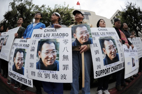 Protesters demand the release of jailed