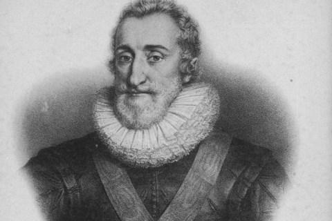 Portrait of King Henri IV of France