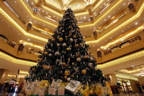 Emirates Palace Christmas Tree