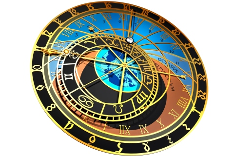 Zodiac, Astrological Clock