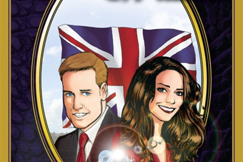 Kate Middleton Prince William comic book