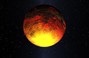 Kepler-10b is the first planet to be Earth-like, mostly made up of rock (Kepler Mission / Dana Berry / NASA)