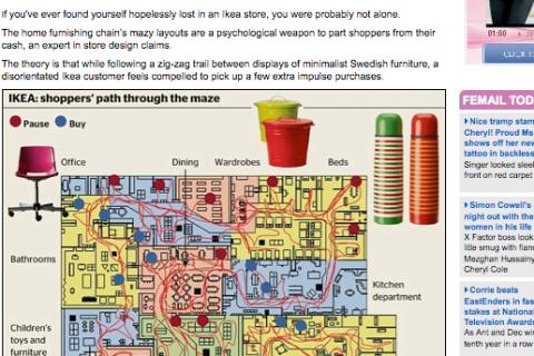 IKEA floor plan