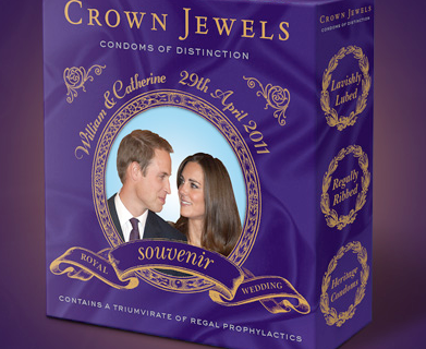 Kate middleton and prince william condoms